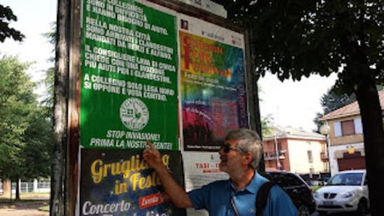 Manifesto Lega PD