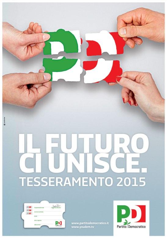 Il-futuro-ci-unisce-Tesseramento-PD-2015